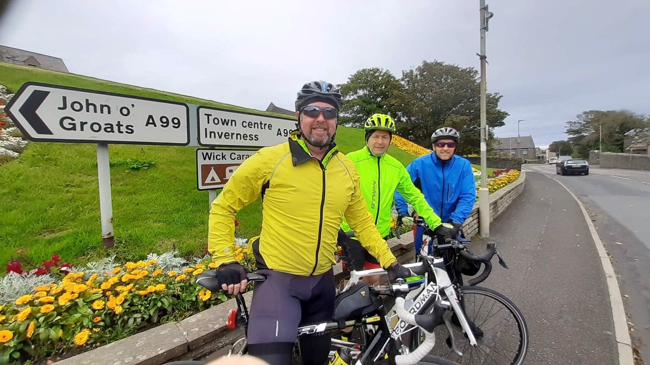 From Lands-End to John O'Groats with our Mascot, Nigel the Wallaby and all in 11 days!